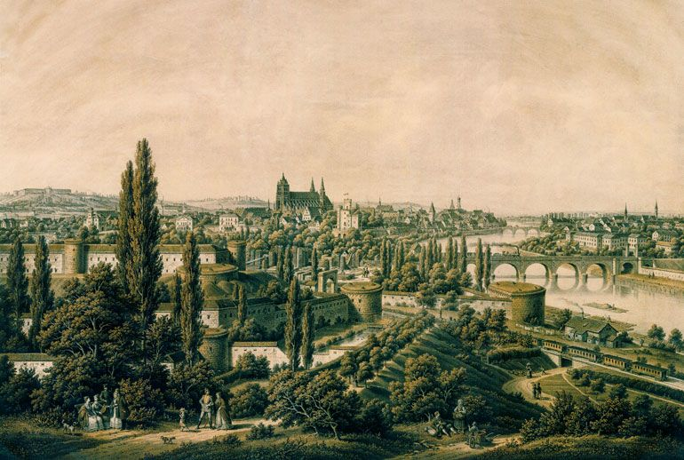 Historic view of Ulm
