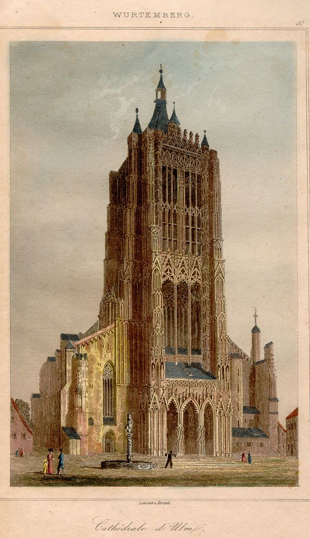Historical view of the minster