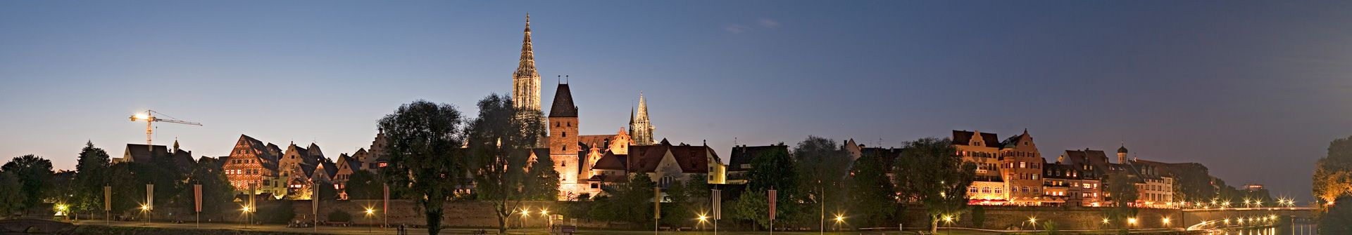 Panoramic view of Ulm